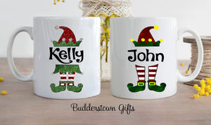 Christmas Elf Mugs!!