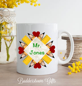 Teacher Mandala Mug - 3 sizes