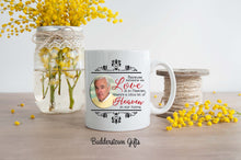 Load image into Gallery viewer, Because someone we love is in heaven mug