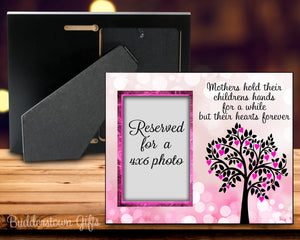 Mothers hold their childrens hands - Personalized Frame 8x10