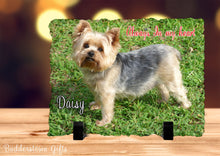 Load image into Gallery viewer, Always in my heart, pet memorial/ Memorial Stone Slate