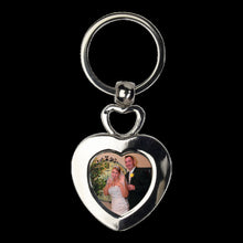 Load image into Gallery viewer, Double Heart keychain - Heart Keychain, Gift Idea, Gift for Her
