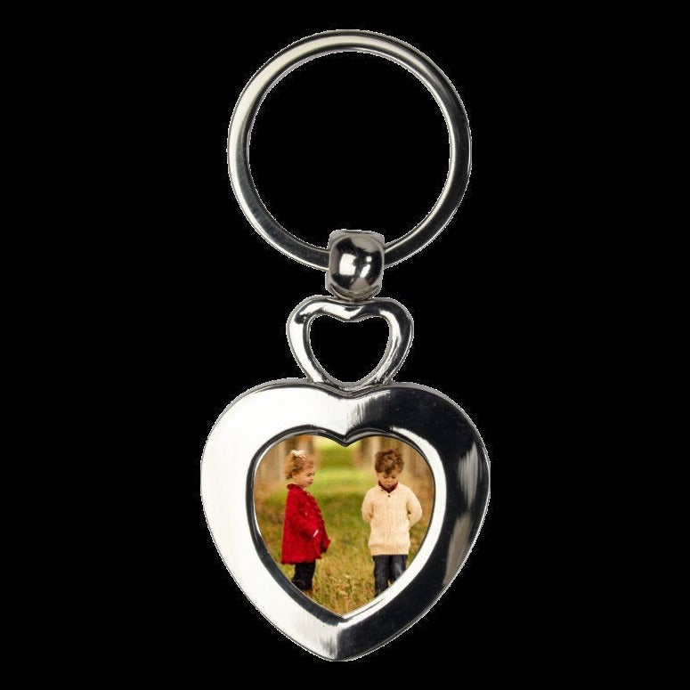 Double Heart keychain - Heart Keychain, Gift Idea, Gift for Her