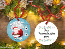Load image into Gallery viewer, TP Santa Ornament -  2020, Free Shipping - Santa Claus, Toilet Paper