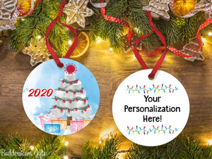 TP Christmas Tree Ornament -  2020, Free Shipping -  Toilet Paper - Tree Ornament