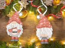 Load image into Gallery viewer, Holiday / Christmas GNOME Ornaments - Free Shipping