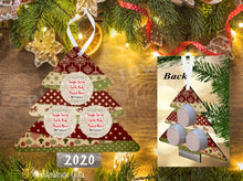 Load image into Gallery viewer, Vintage Christmas Tree Single Serve Coffee Pod Ornament - Free Shipping
