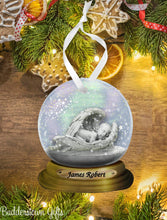 Load image into Gallery viewer, Memorial Baby Angel Snow globe Ornament  - Free Shipping