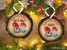 Load image into Gallery viewer, Gnome for the Holidays - Wood Ornament - Free Shipping