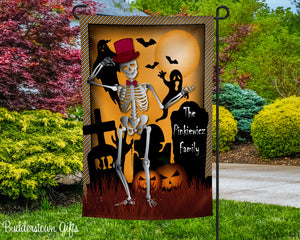 SPOOKTACULAR- 12x18 - Garden Flag - Single Sided - Free Shipping!