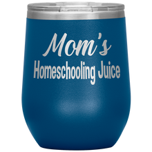 Load image into Gallery viewer, Mom's Homeschooling Juice - 12oz Stemless tumbler