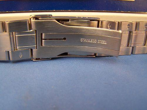 Swiss Army watchband 1884 Bracelet 2 Tone w/pins