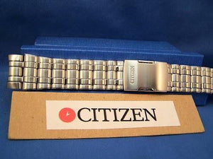 Citizen watchband JY0000 Skyhawk AT Flight Chron Bracelet. Steel Silver Color