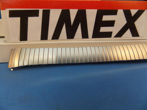 Timex watchband Easy Reader Silver Tone Stretch Band for 18mm Wide  EZ Reader