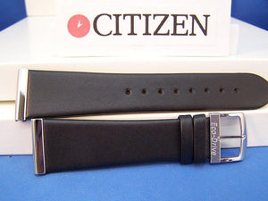 Citizen watchband Eco-Drive Mod# BL6005-01E Black Leather back plt#B023-S011868