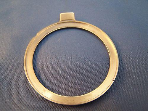Casio Watch Parts PAG-80 Bezel Metal Silver Tone