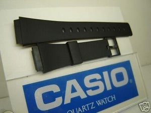 Casio watchband MRW-10 mens black Resin