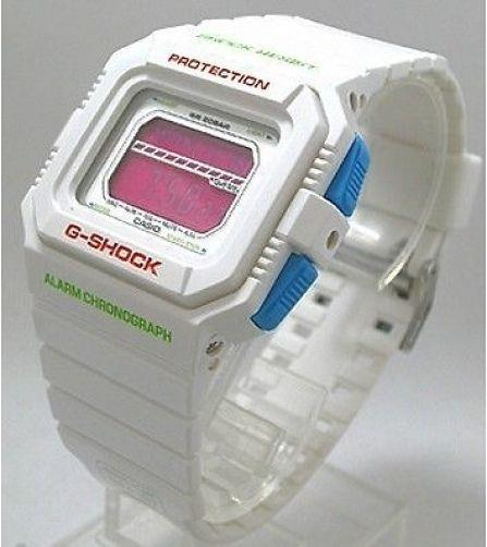 Casio watchband GLS-5500 P-7 Shiny White G-shock Watchband -
