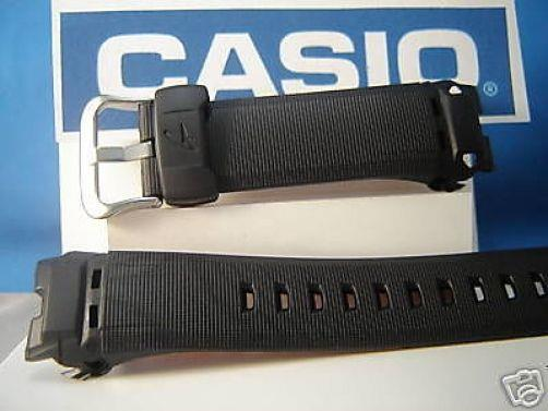 Casio watchband GW-1400 GW-1401. black Resin