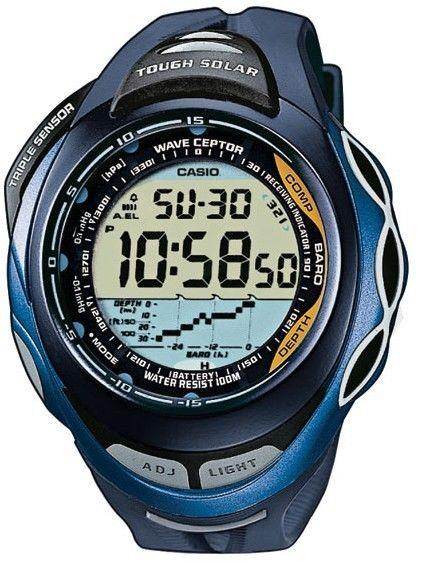 Casio watchband SPW-1000-2. Sea Pathfinder blue Multi Band 5 Original