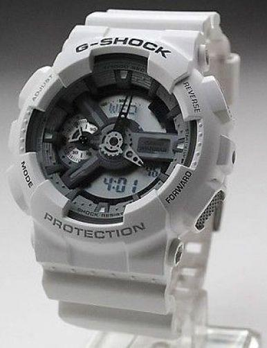 Casio watchband GA-110 C-7 White Resin Casio G-Shock