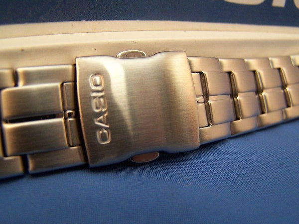 Casio watchband AQF-100 WD Steel Bracelet Silver Tone For Tide Graph Watch