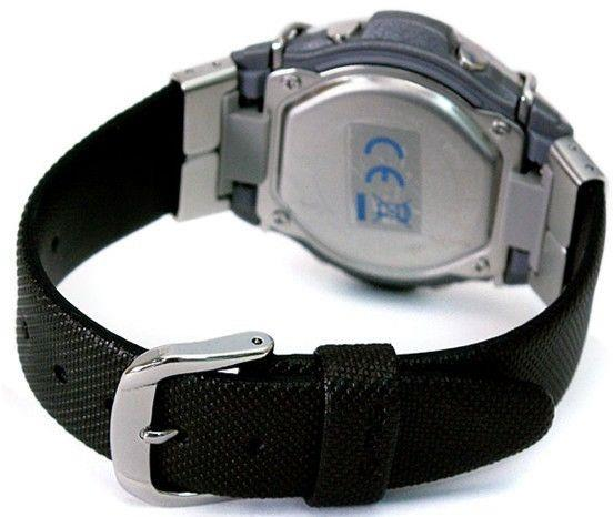 Casio watchband MSG-133 L Black   w/Steel Attachments