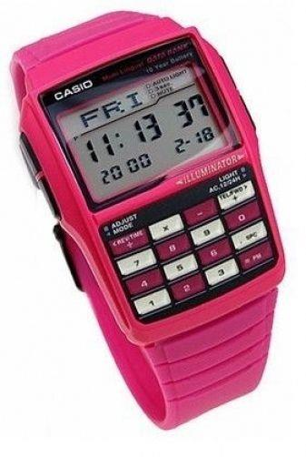 Casio watchband DBC-32  Data Bank Violet  Resin  22mm