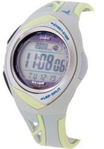 Casio watchband STR-200 -7B Gray/Yellow PHYS Watchband -