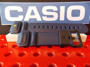 Casio watchband TRT-100 H-2 blue Twin Resist Resin  Watchband
