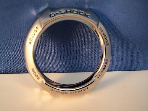 Casio Watch Parts Bezel Metal G-600, G-610, G-611