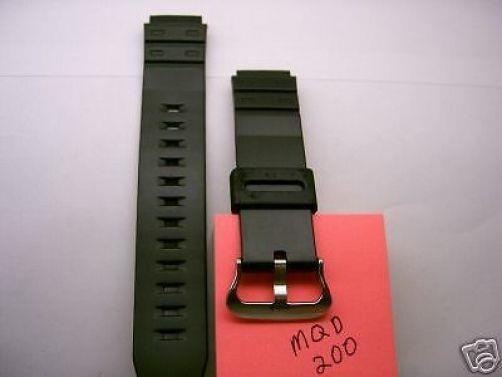 Casio watchband MQD-200 Original Casio  for discontinued model: MQD-200