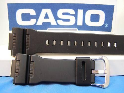 Casio watchband GW-7900 and G-7900 G-Shock Black Rubber