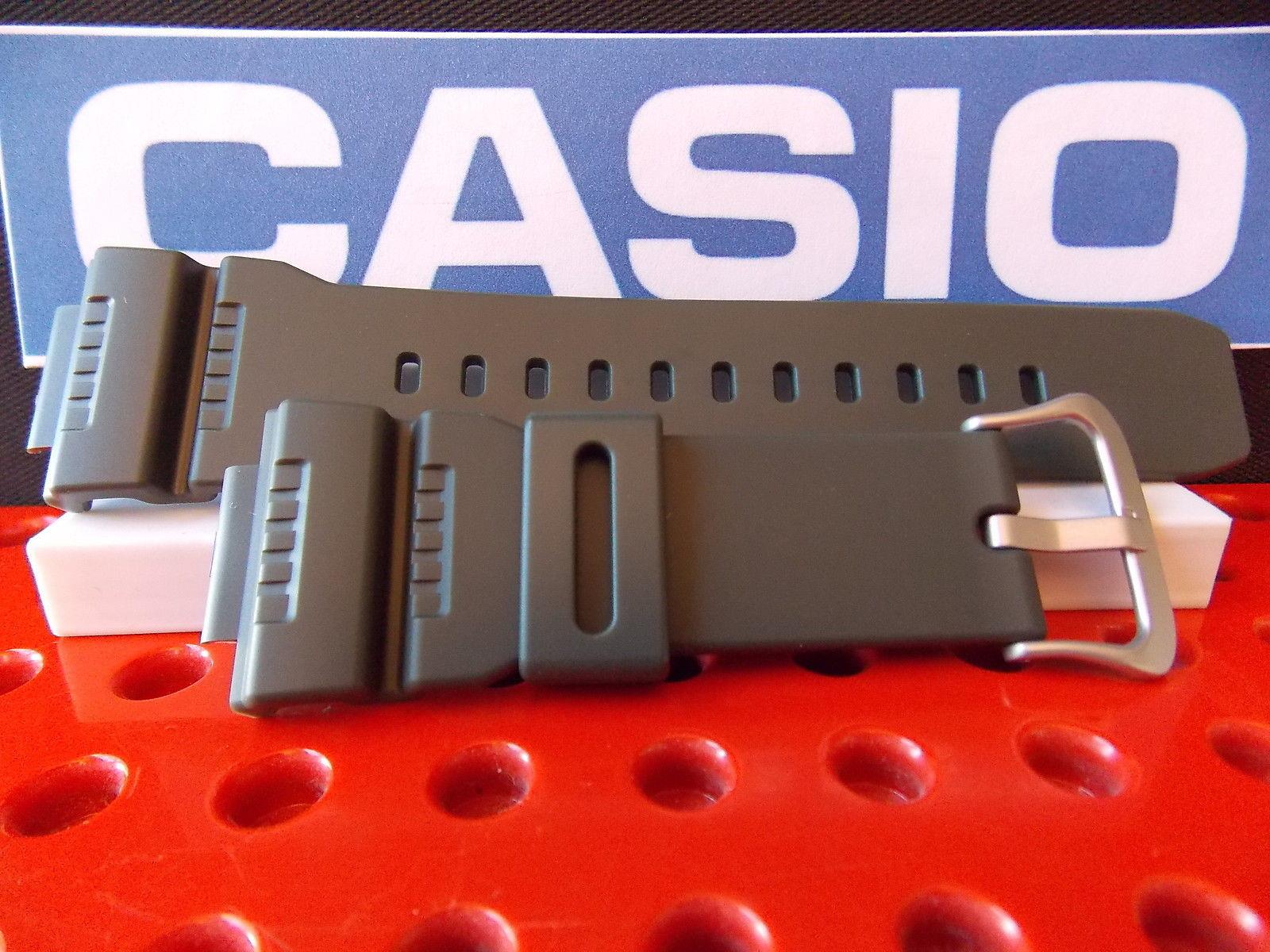 Casio Watch Band G-7900 -3, GR-7900, GW-7900 Green Rub G-Shock Strap Watchband