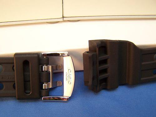 Casio watchband GWF-1000,GF-1000 G-Shock Frogman black  Silver Tn buckle