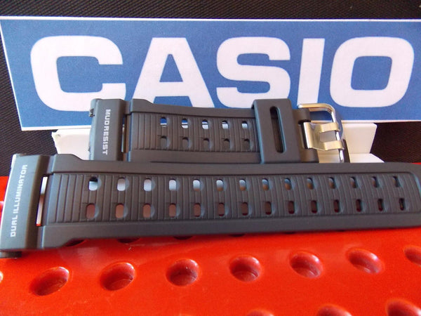 Casio watchband G-9000 MX-8 Gray Mud Resist Dual Illuminator G-Shock