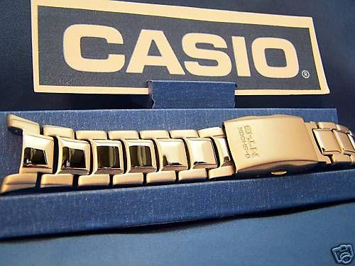 Casio watchband MTG-900 D and MTG-901 D.Steel Bracelet