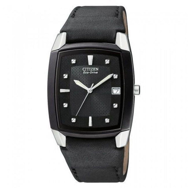 Citizen watchband BM6575 -06 Mns leather buckle# E111-S049407