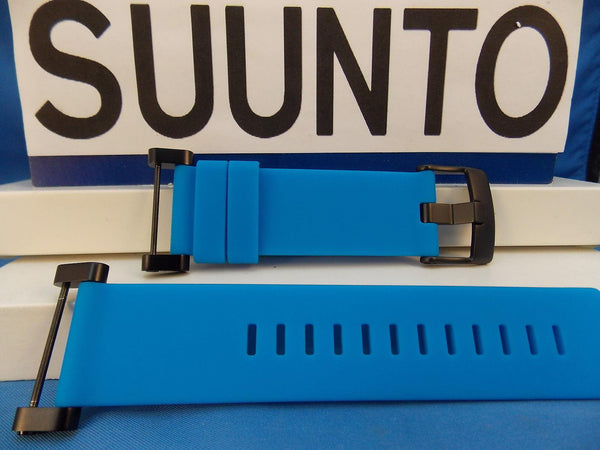 Suunto watchband Core blue  Black buckle / Hardware w/ Attaching T-Bars