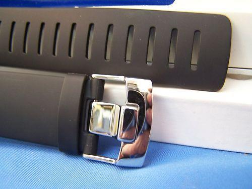 Suunto watchband Core Black Resin w/Attaching T-Bars