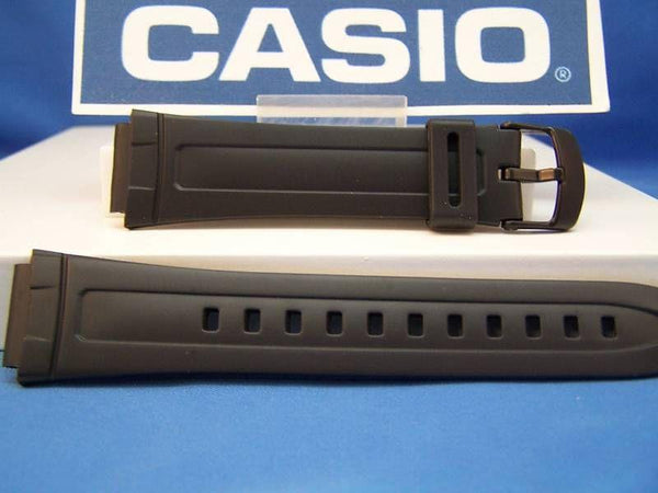 Casio watchband AW-80 and AW-82 18mm Black Resin