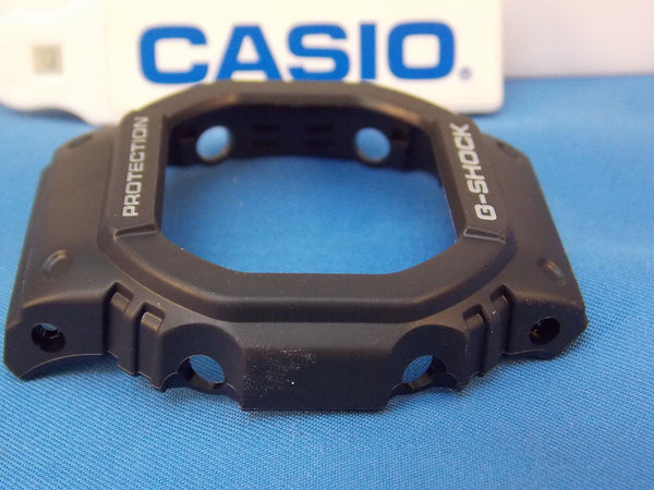 Casio Watch Parts DW-56 RT Bezel/Shell and fits GW-5600 J1.Black w/White Letters