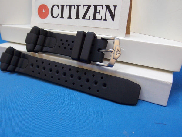 Citizen watchband Aqualand lll JP1060, BJ2040 Black Resin Divers   200m