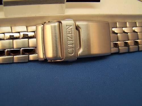 Citizen watchband Original Skyhawk All Stainless Steel Bracelet Model JR3080