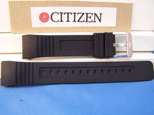 Citizen watchband BJ2120 Integrated Fit Black Rubber  Eco Drive Promaster