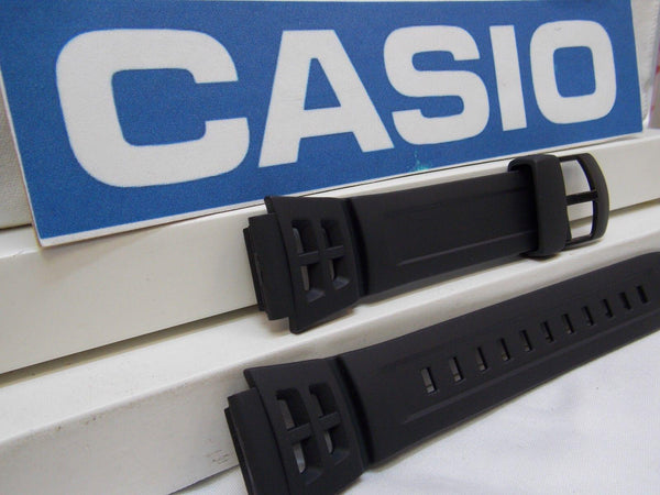 Casio watchband AQ-S800 Black Resin  Watchband for Tough Solar 5 Alarm