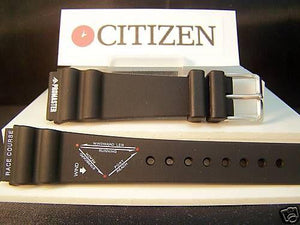 Citizen watchband Promaster Original Windsurfer 20mm Black Rubber .
