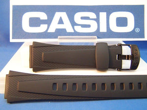 Casio watchband W-752, W-755, W-753.  Casio Lap Memory 50 Black Resin