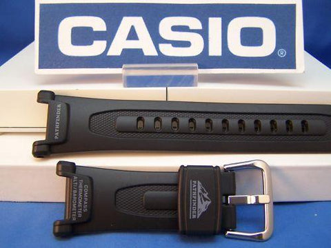 Casio Watchband PAG-40. Casio Pathfinder black Rub Watchband. Also fits PRG-40