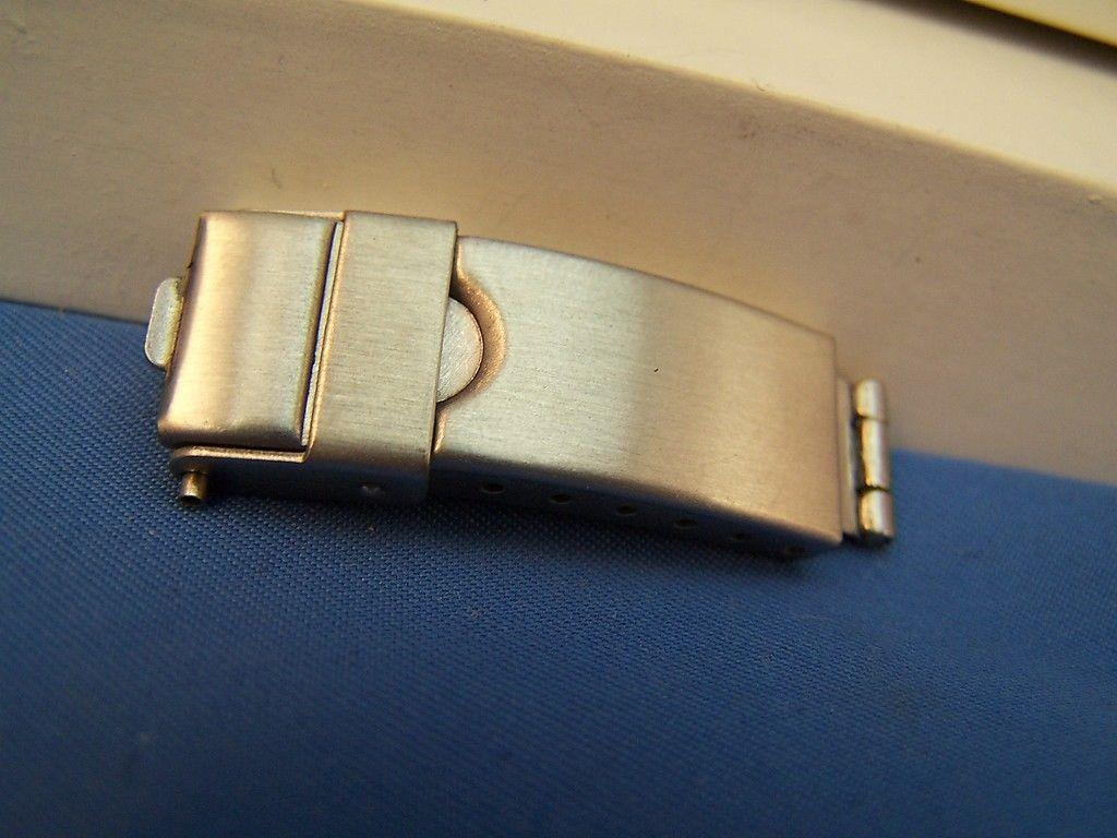 Watch Bracelet TriFold buckle. 10mm End Link Attach and 6mm Center Link Attach